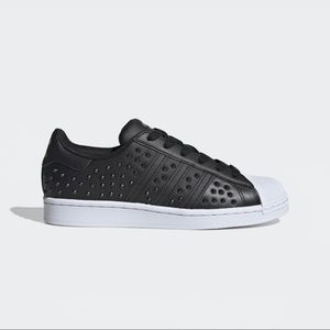 Adidas Womens Studded Superstar Sneakers